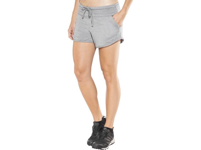 Icebreaker Mira Shorts Women fossil/snow